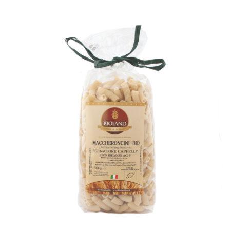 Maccheroncini artigianali di grano duro Senatore Cappelli Bio 500 gr - b4a270e49ade