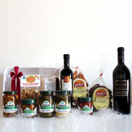 Una selezione di prodotti tipici del Salento