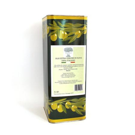 Olio extravergine di oliva Az. Agr. Prete in lattina 5 lt